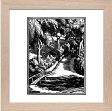 The River Misbourne - Ready Framed